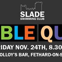 Slade Swimming Club Table Quiz