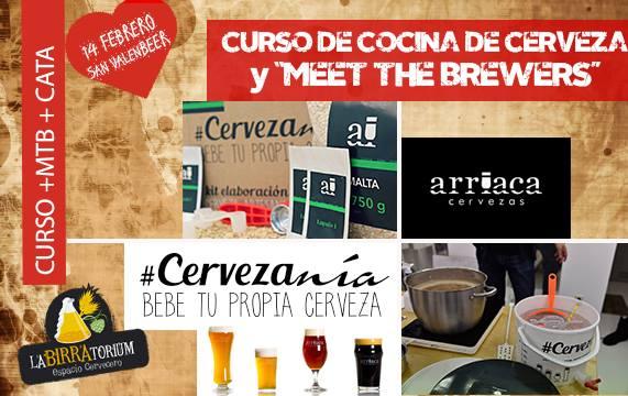 Curso de cocina de Cerveza meet the brewers y cata