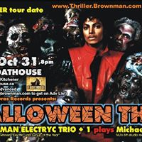Halloween Thriller (Kitchener) - MJ as electric-jazz 8pm