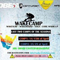 2829 April Last WakeCamp in Abu Dhabi