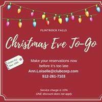 Christmas Eve To-Go