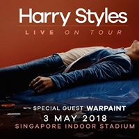 Harry Styles Live On Tour 2018 - Singapore