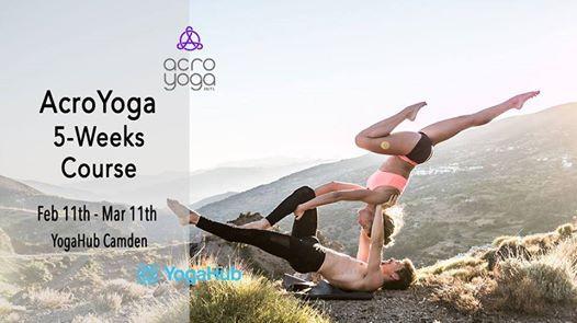 5-Week Beginners AcroYoga Course with Giulia