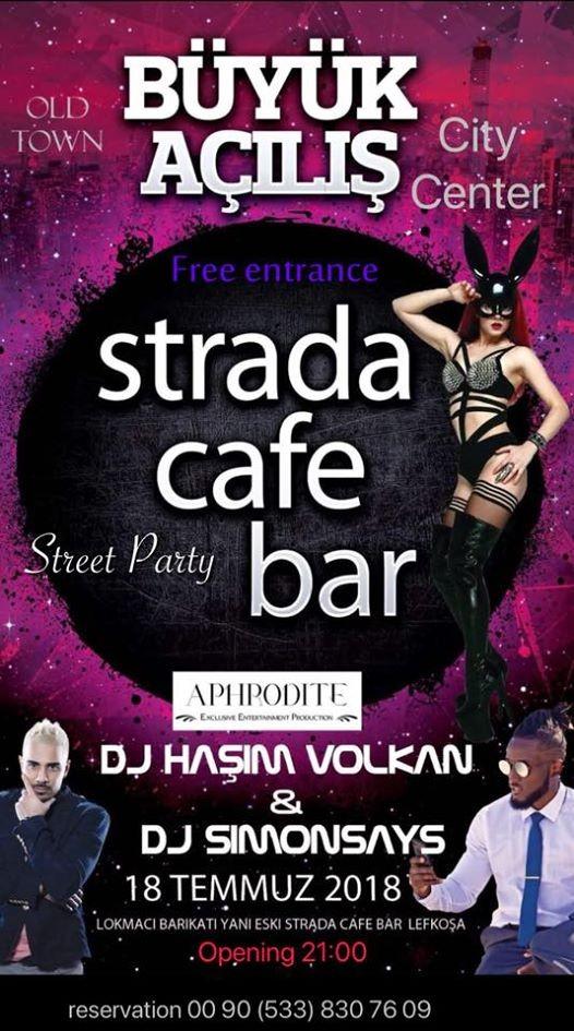 Strada cafe bar opening