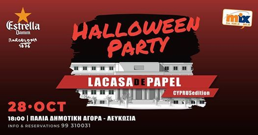 La Casa De Papel - Halloween Party
