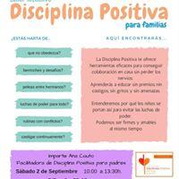 Taller Intensivo Disciplina Positiva en Vigo