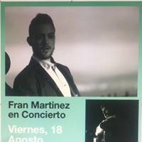 Concierto Fran Martinez