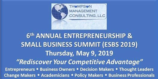 6th Annual Entrepreneurship and Small Business Summit (ESBS 2019) at