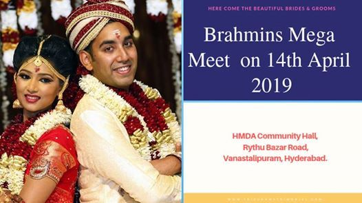Brahmins Convention on Apr 14 Hyderabad - Tripura Matrimonial