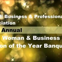 35th Annual Man Woman &amp Business Person of the Year Banquet