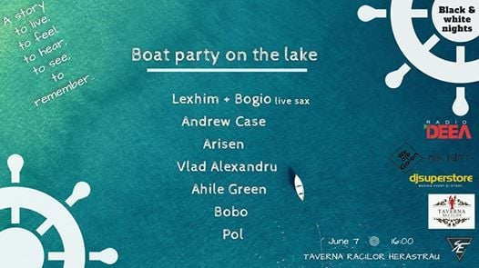 Boat party by Black and white nights