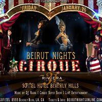Beirut Nights Cirque Party