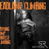 Halloween Headlamp Climbing