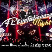 Revolutionary Night DJ Tudor Mircean &amp MC Jay Jay