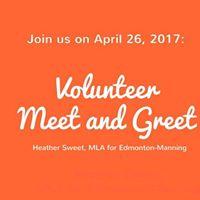 Volunteer Meet and Greet