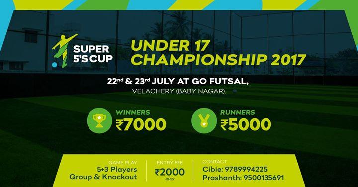 Super 5s Cup U-17 Championship 2017