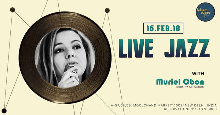 Live Jazz with Muriel Obon