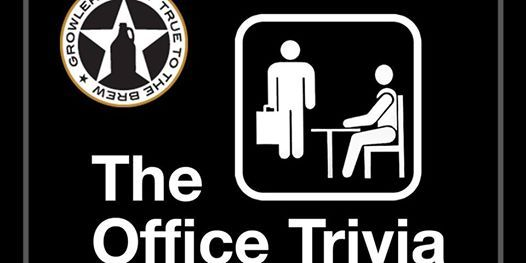 The Office Trivia at Growler USA Highlands Pub