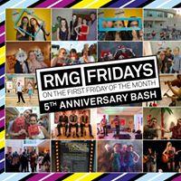RMG Fridays 5th Anniversary