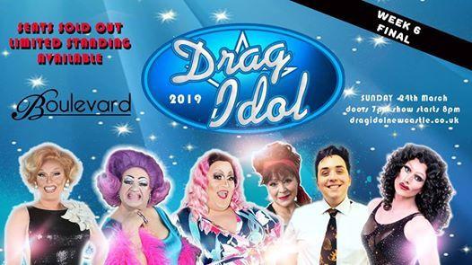 Drag Idol 2019 Final at Boulevard Week 6