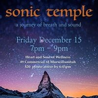 Sonic Temple  a journey of breath &amp sound