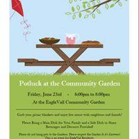 Potluck at the Community Garden