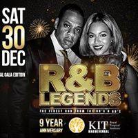 R&ampB Legends 9 Year Anniversary