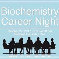 Biochemistry Fourth Year Career Night