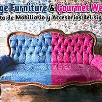 Vintage Furniture &amp Gourmet Weekend
