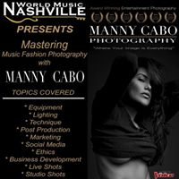 Manny Cabos Entertainment Photography Seminar
