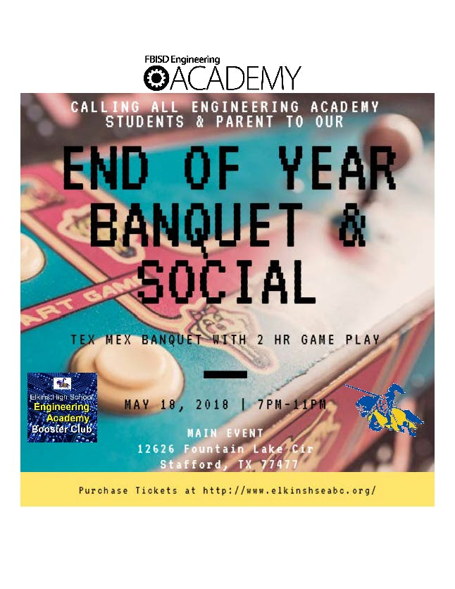 Engineering Academy End-of-Year Banquet & Social