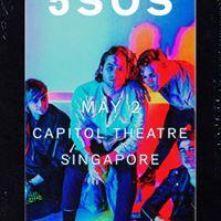5SOS Live in Singapore 2018