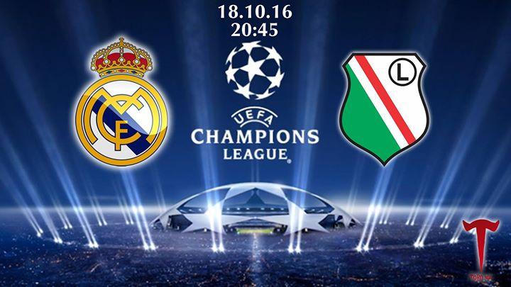 Real Madrid v Legia Warsaw 43b5f156d27a13b25c5c42492feaae00