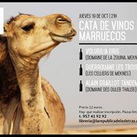 Cata de vinos de Marruecos