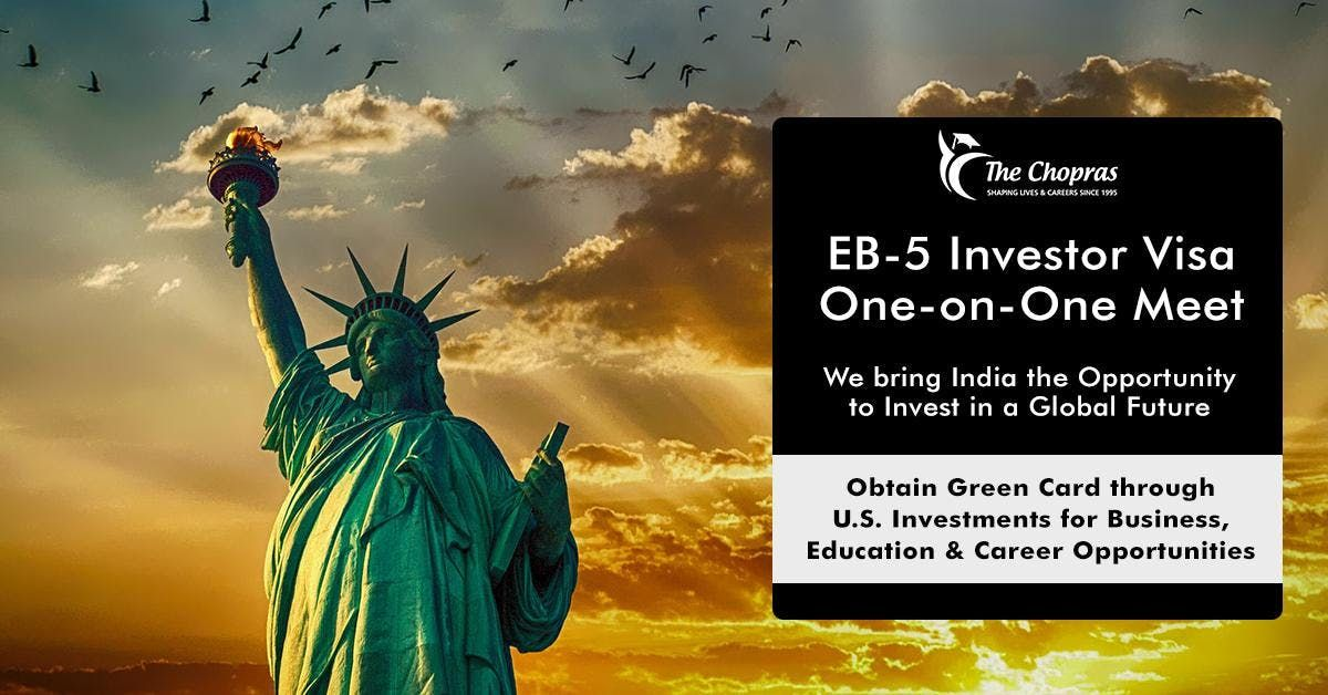 EB5 Investor-Visa One On One Meet By The Chopras In Pune