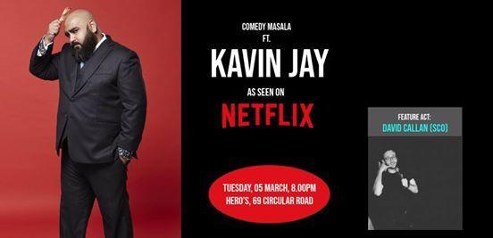 Comedy Masala ft. Kavin Jay (seen on Netflix)