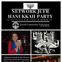 Network JCFR Hanukkah Party