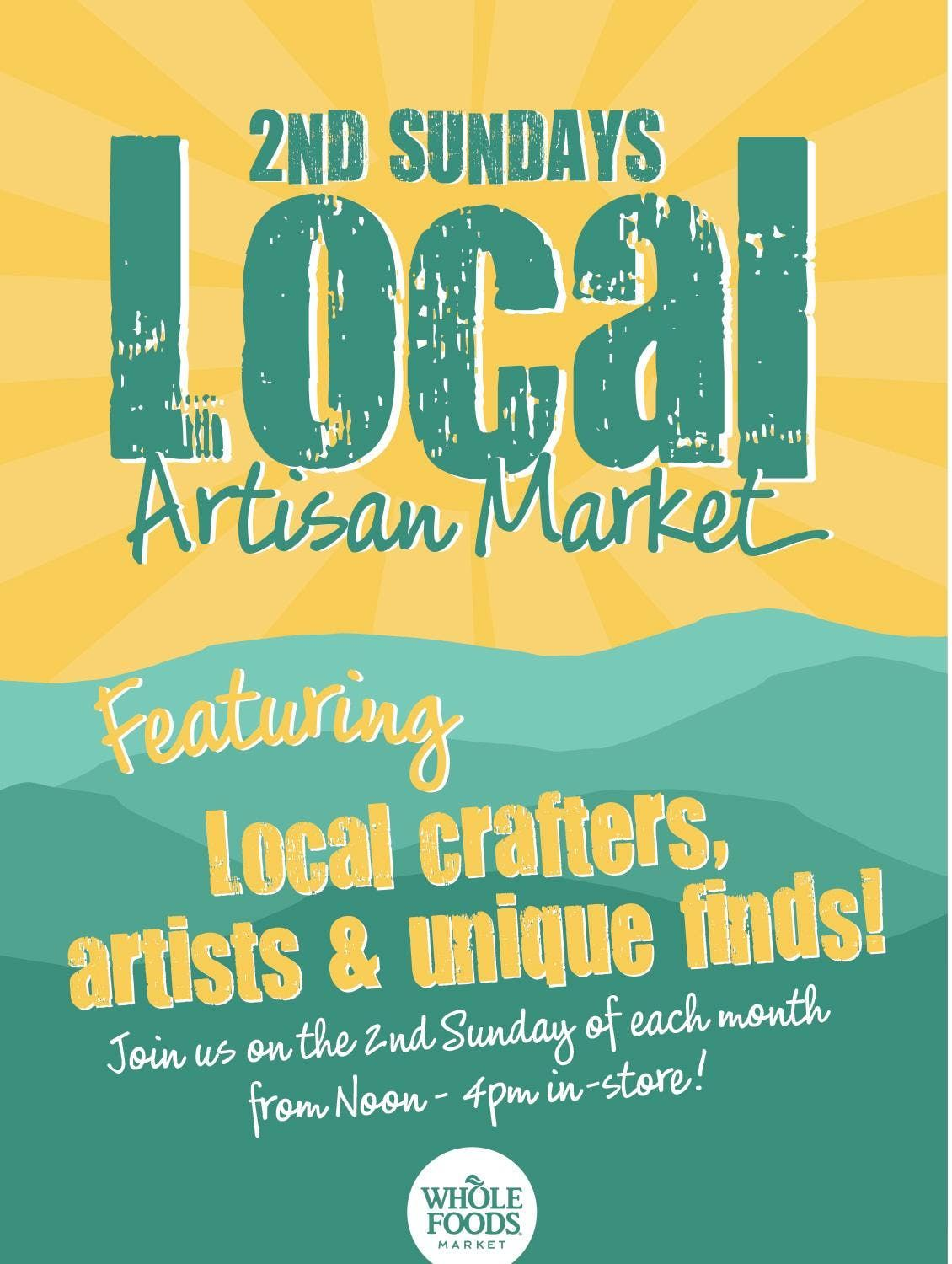 Second Sunday Artisan Market