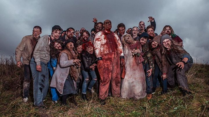 zombie apocalypse be a zombie abington