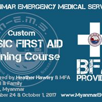 Custom Private Basic First Aid Course for a Family in Yangon