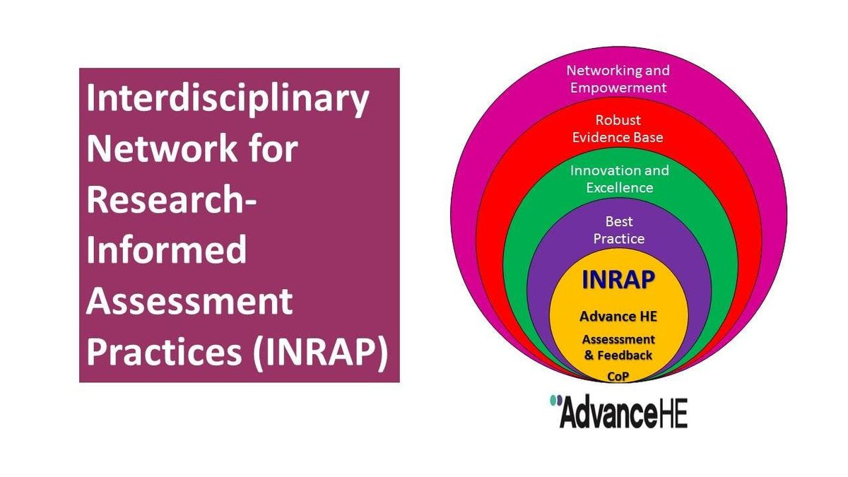 Join INRAP Interdisciplinary Network for Research-Informed Assessment Practices