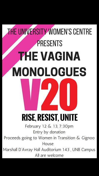 Vagina monologues halifax