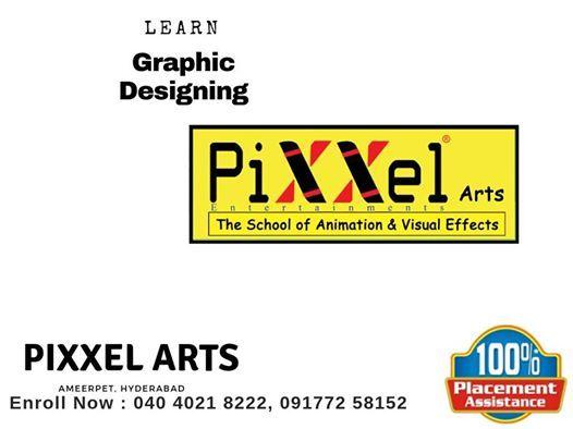 Graphic Designing Courses in Pixxel Arts Hyderabad