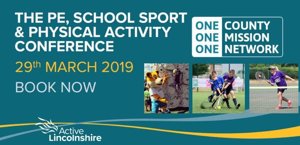 Lincolnshire PE School Sport and Physical Activity Conference 2019 (Early Years)