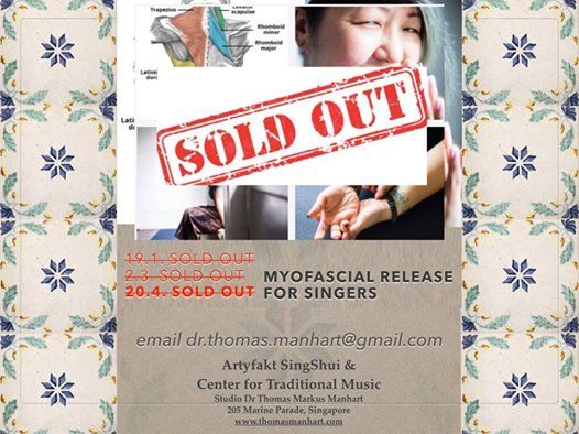 Myofascial Release for singers