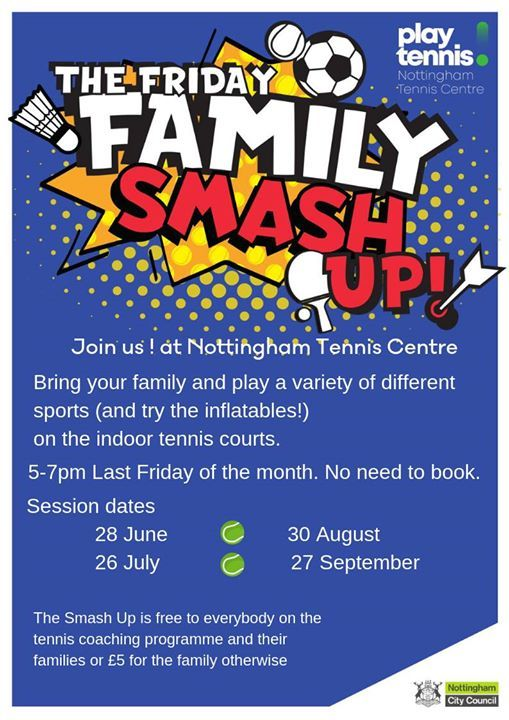 7c4a26b2b Friday Family Smash Up (Last Friday of every month) at Nottingham ...