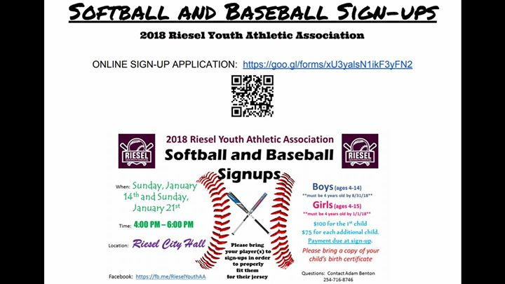 softball sign ups near me