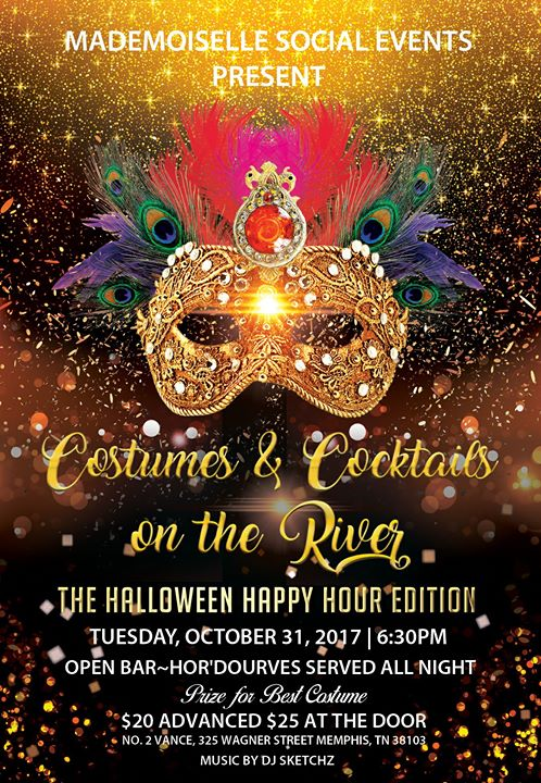 costumes cocktails on the riverthe halloween happy hour edition