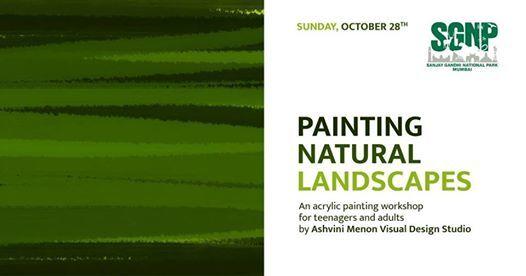 Painting Natural Landscapes by Ashvini Menon