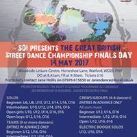 The Great British Street Dance Championship SDI Finals Day